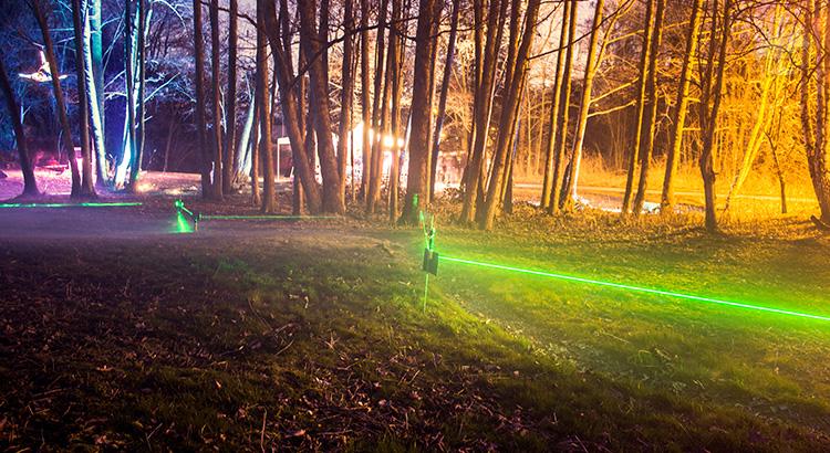 Festival světla u Pramenů na Roudné 2016