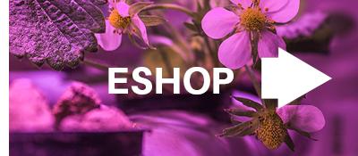 Eshop GROWLIGHT s LED pěstebním osvětlením a hydroponickými potřebami