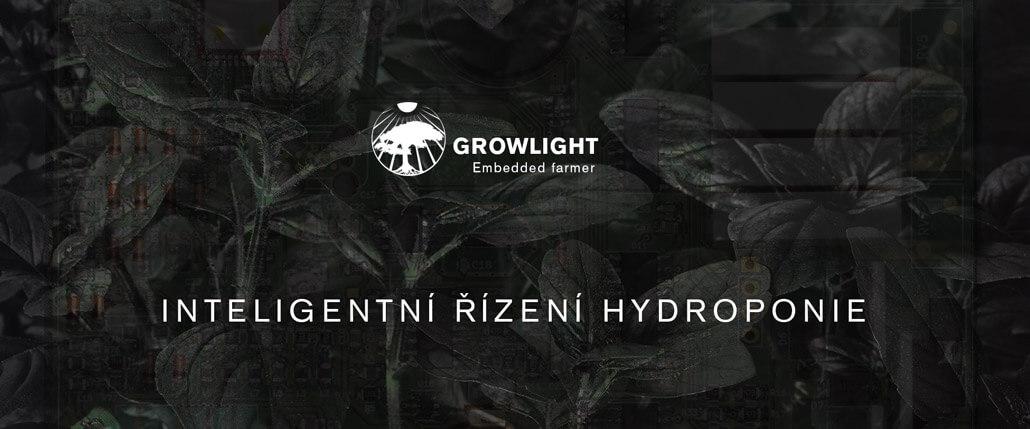 Inteligentní řízení hydroponických systémů indoor pěstebních systémů a skleníků