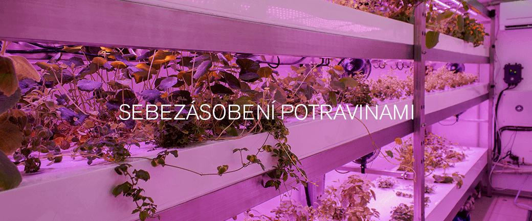 Domácí i profesionální vertikální pěstírna pro pěstování zeleniny a bylinek